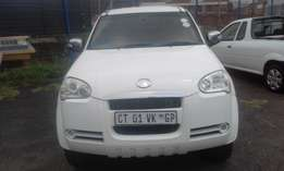 GWM 2.8 Model 2011 5 Door Colour White Factory A/C & CD Player