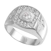 pure silver men wedding rings on offer