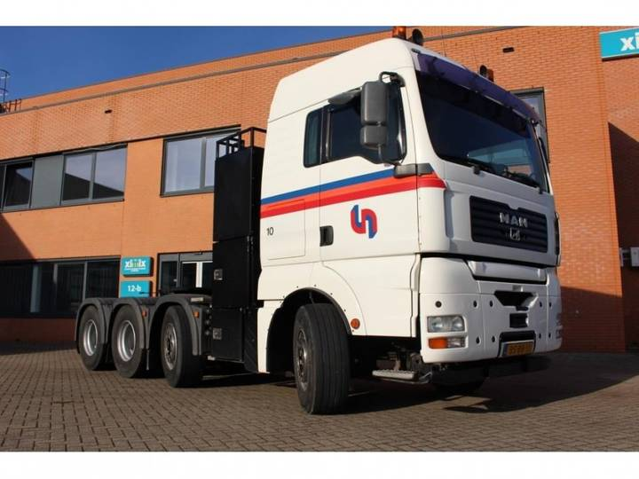 MAN Tga 41.530 8x4 /4 Bls - Nl Truck - Ual - Big Axles - 2006