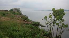 6.8 Acres Touching Water Entebbe Bugiri, 5.7km From Entebbe Rd.