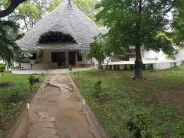 Two bedroom house in Malindi in quarter an acre plot with swimming