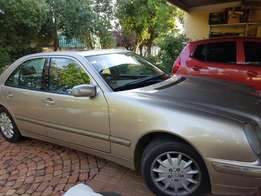 Mercedes Benz E240 for sale or swop