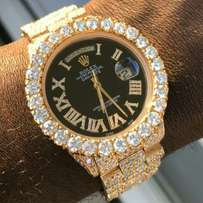Ice out rolex
