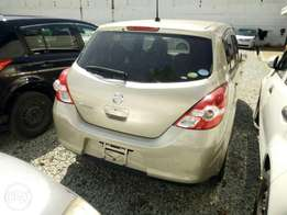 Nissan Tiida Gold colour light interior