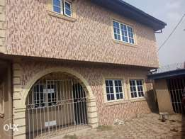 Executive 4bedroom duplex at raji Oba at alimosho with C of O.