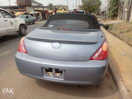 Tokunbo Toyota Solara Convertible 2007 Model Up for Quick Sale