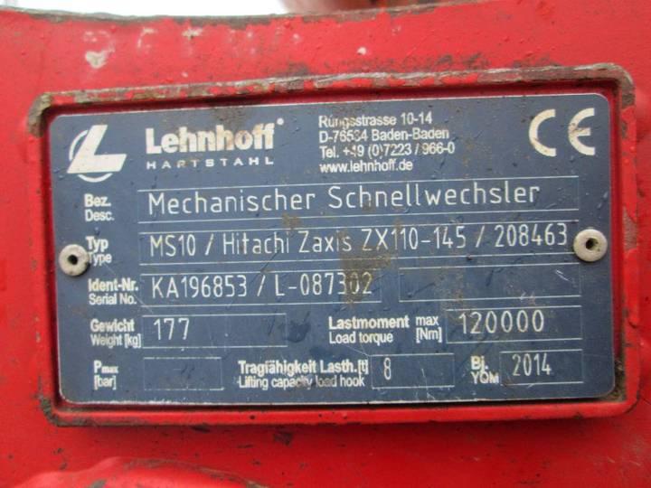 Lehnhoff Ms10 Hitachi Zx110 - Zx145 - 2014 - image 2