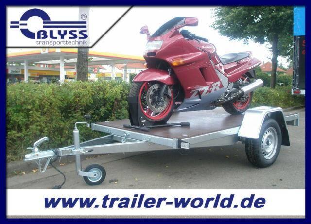 Blyss Motorradanhänger 750 kg Anhänger 243x133x39cm
