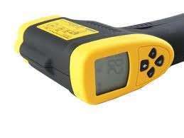 non contact infared temperature measuring laser gun with lcd display h