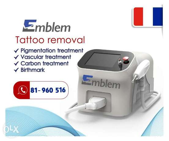 Tattoo Removal & Carbon Laser Q-Switched