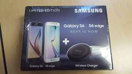 New Samsung Galaxy S6 Edge(64gig) with Wireless Charger - Still sealed
