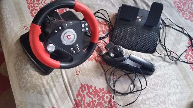 DILONG P3808 Racing Wheel ( Emaculate Condition) Used Once Wadeville - image 1
