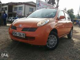 Clean Nissan march