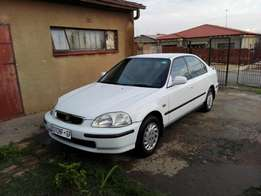 Honda Ballade Luxline Automatic SO4. Swap for Toyota or Getz