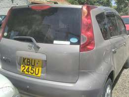 Nissan note, used