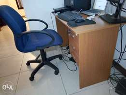 Office Desk and Chair - Home Office - Auction Quick Sale
