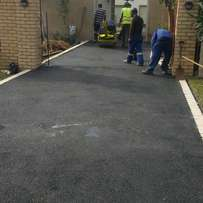 Smooth tar surfaces /domestic & industrial driveways & parking areas.