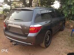 Neatly Foreign Used Toyota Highlander 4WD 09