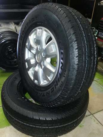 Ford Ranger mags 16 inch with tyres Continental 255/70R16C set of four Pretoria West - image 5