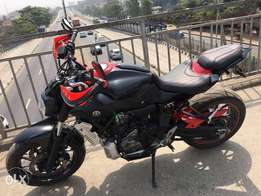 2016 Yamaha MT07 Street Bike