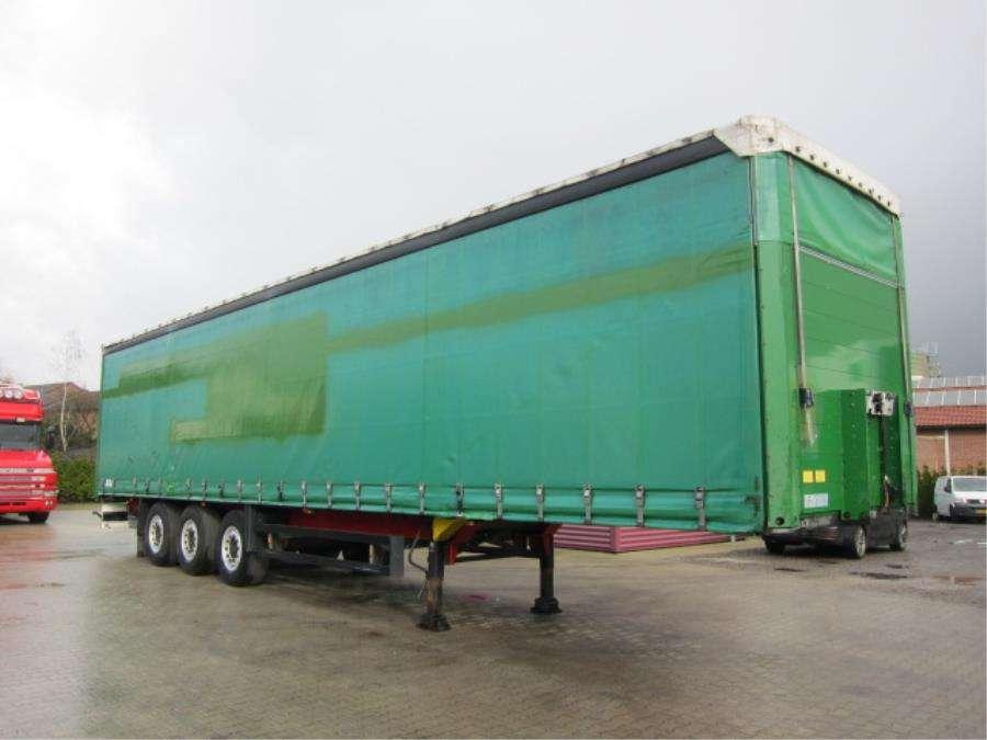 Schmitz Cargobull SO1 Coil Stuuras/Steering/Lenkachse - 2008