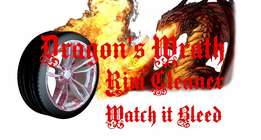 Dragons Wrath Rim cleaner, the very best in wheel cleaning.