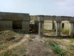 5 bedroom uncompleted house at Gyinyase for sale