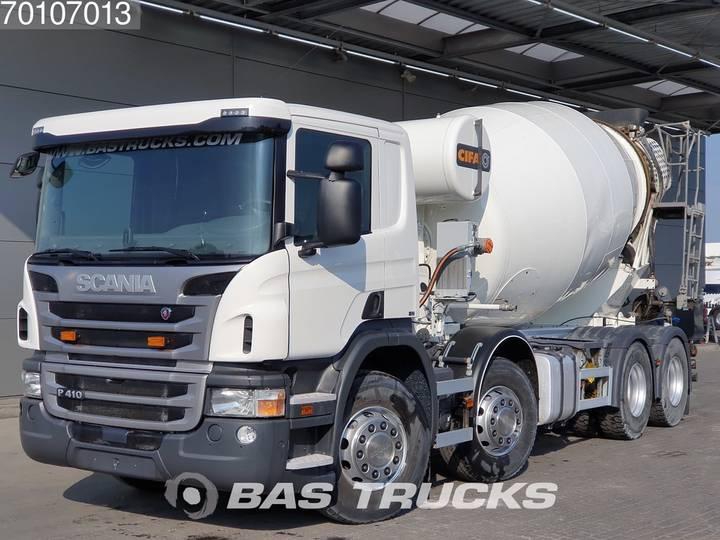 Scania P410 8X4 Manual Euro 6 - 2017