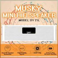 Bluetooth subwoofer with radio musky dy21l