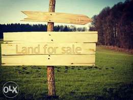 Two plots of land, six hundred thousand each.