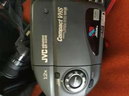 JVC VIDEO CAMERA in goed condition back