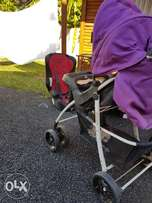 Kiddies Pram, carrier and car seat