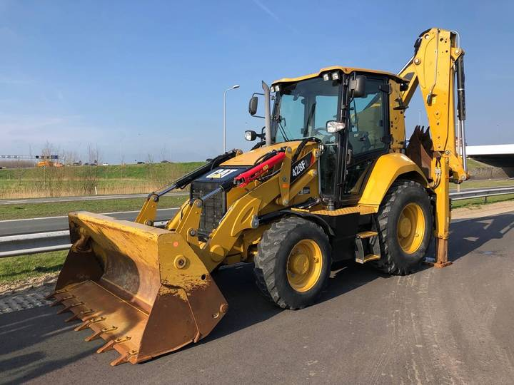 Caterpillar 428F2 4x4 Backhoe Loader - 2017