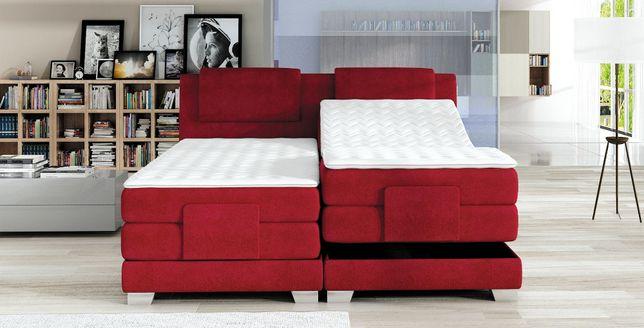 Promocja łóżko Kontynentalne Wave 180 Elektrycznie Sterowane