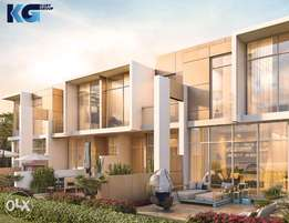 Villas for sale in Damac Hills 2 with pool and garden in Dubai