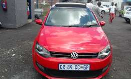 VW Polo 6 1.4 Colour Red Model 2013 5 Door Factory A/C & MP3 Player