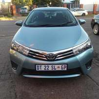 Special: 2015 toyota corolla 1.3 prestige 140000 cash only This is a v