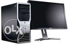 Dell precision 490 workstation + 22' Tft