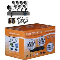8 Channel CCTV D.I.Y Kit with HD Day/Night Indoor/Outdoor Cameras