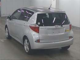 2012 KCN..New Shape Toyota Ractis with Alloy Rims 890k