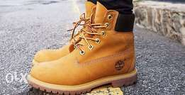 Original Timberland leather boots (Size 42)