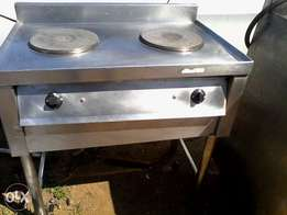 Gas stove 2 plates for sale
