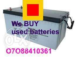 Old solar battery Owerri Imo state