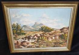 1970's Oil Painting signed by the Artist