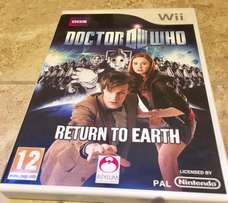 DR. WHO Wii Game