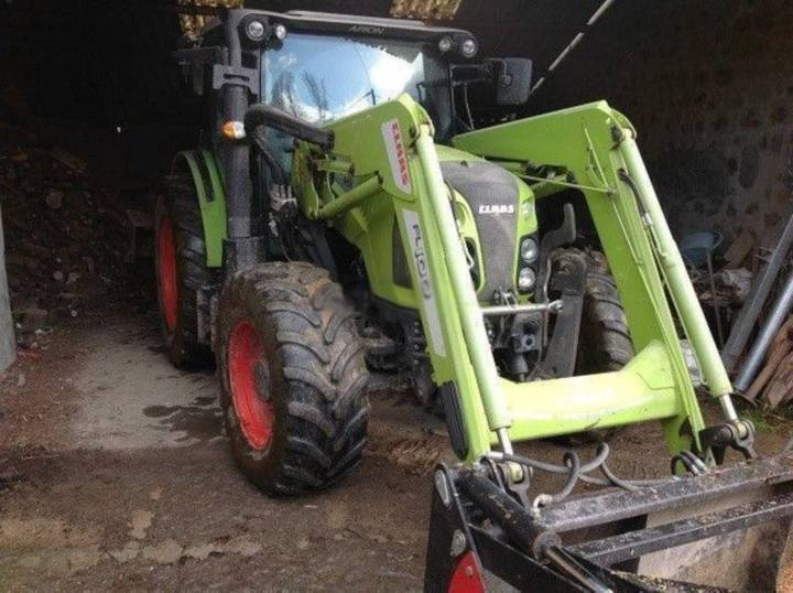 Claas arion 420 t4f - 2015