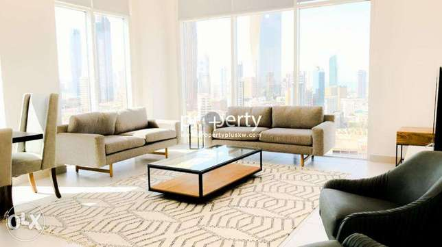 Fully furnished two bedroom for rent close to Kuwait City بنيد القار -  1