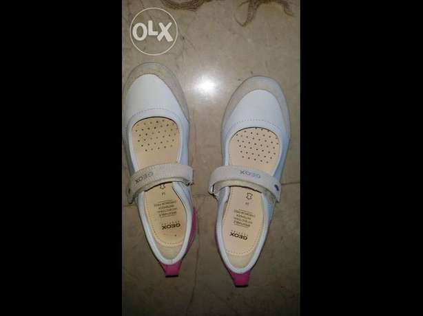 Geox girl NEW shoes size : 34 colour: white
