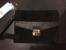 Новый кожаный клатч mint berry f3ff55d7ba5d1