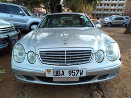 A Mercedes Benz E240 , 2004model on sale